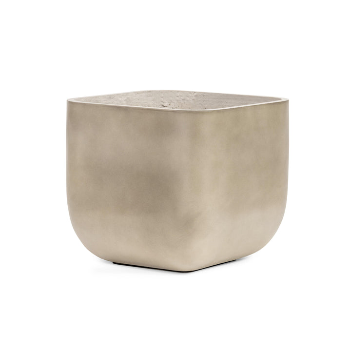 "Ivan 20"" Square Concrete Planter"