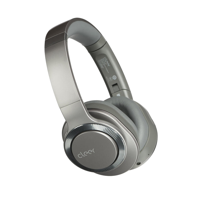 Cleer Audio Flow II Wireless Bluetooth Noise Cancelling Headphone with Google Assistant (Gunmetal) | Headphone | parker-gwen