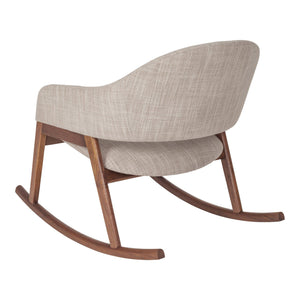 Jimi Modern Rocking Chair (Brown)