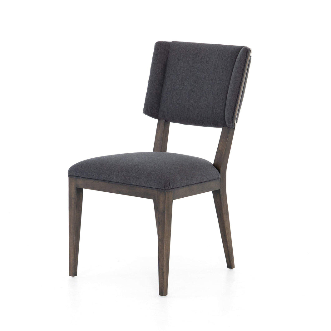 Jax Dining Chair (Misty Black) - Abbott Collection - Parker Gwen