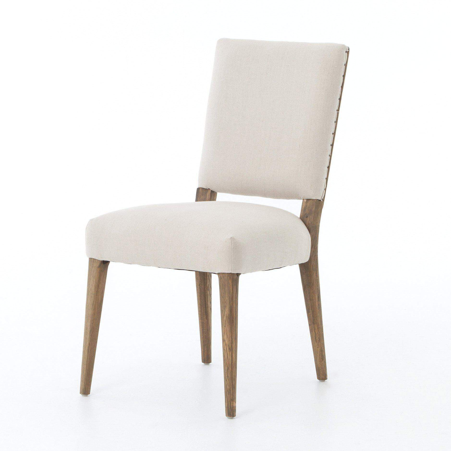 Abbott Collection Kurt Dining Chair: Dark Linen-Dining Chair-Parker Gwen