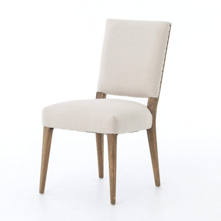 Kurt Dining Chair (Dark Linen) - Abbott Collection - Parker Gwen
