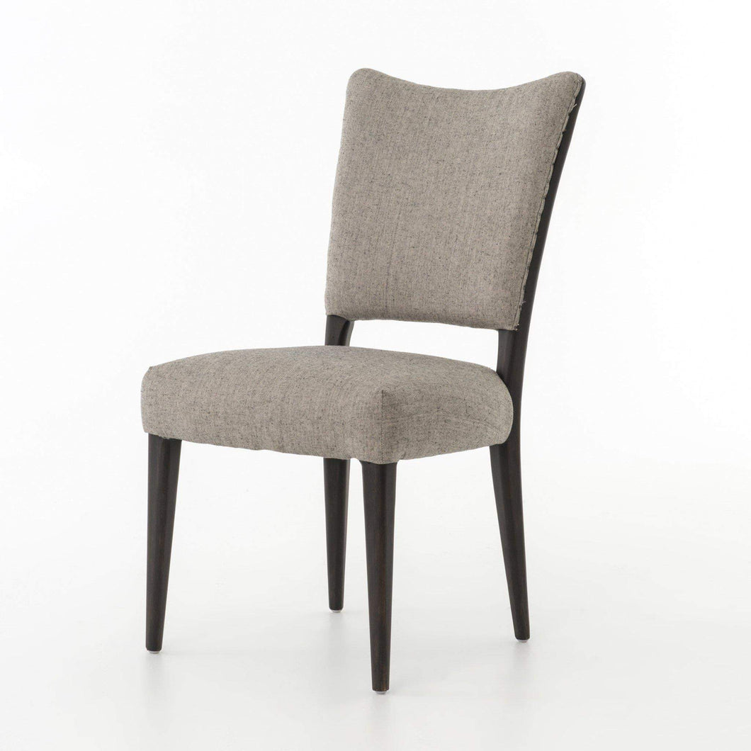 Abbott Collection Lennox Dining Chair: Ives White-Dining Chair-Parker Gwen