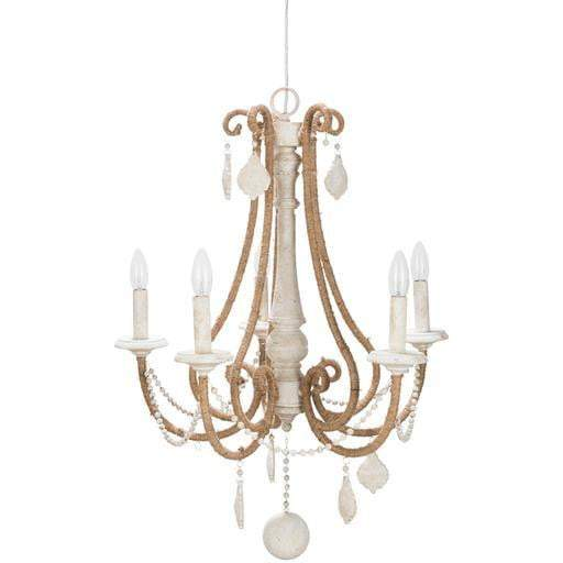 "Ambrose 30"" x 22.8"" 5-Light Chandelier"