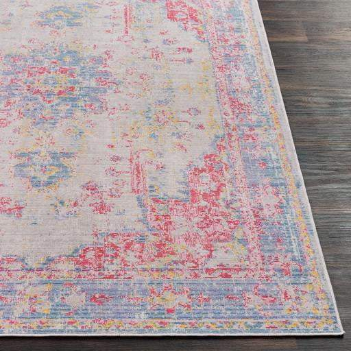 Antioch Medallion Area Rug - Multiple Sizes & Runner (Violet) - Parker Gwen