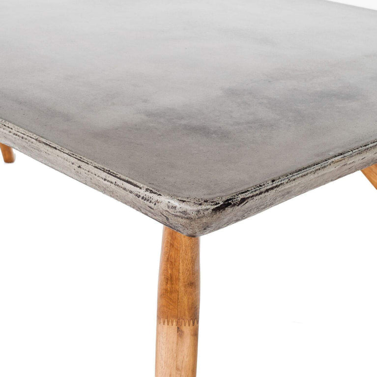 "AMARI 85"" Concrete Top Dining Table - Parker Gwen"