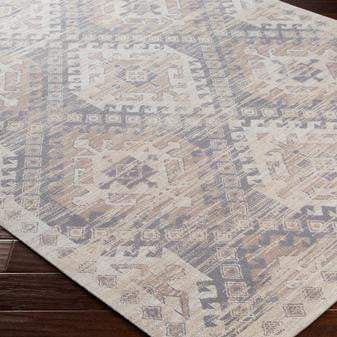 Amsterdam Chenille Rug Collection - 3 Sizes (Taupe) - Parker Gwen