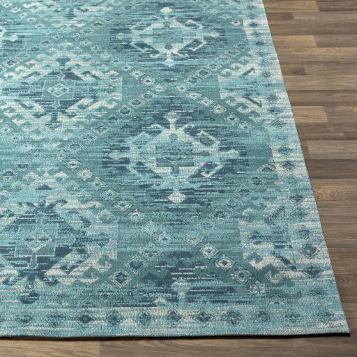 Amsterdam Chenille Rug Collection - 3 Sizes (Teal)