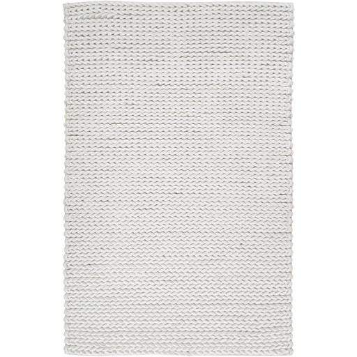 Anchorage Braided Wool Area Rug: Multiple Sizes (Cream) - Parker Gwen