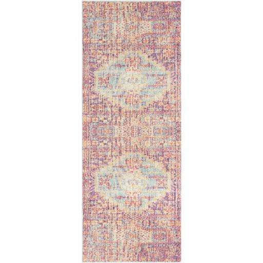 Antioch Area Rug Collection - Pink (Multiple Sizes & Runner) - Parker Gwen