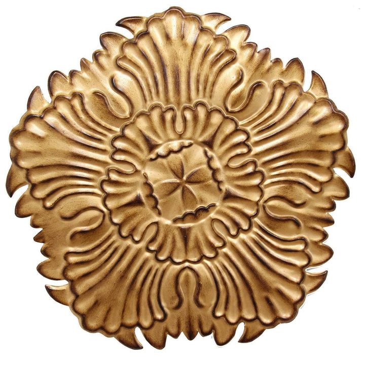 Antique Gold Medallion Wall Décor-Wall Accent-Parker Gwen