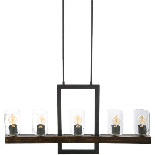 "Taos 20.37""H x 40""W 5-Light Linear Chandelier"