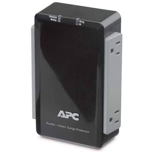 APC Audio/Video Surge Protector 4 Outlet with Coax Protection, 120V - Parker Gwen
