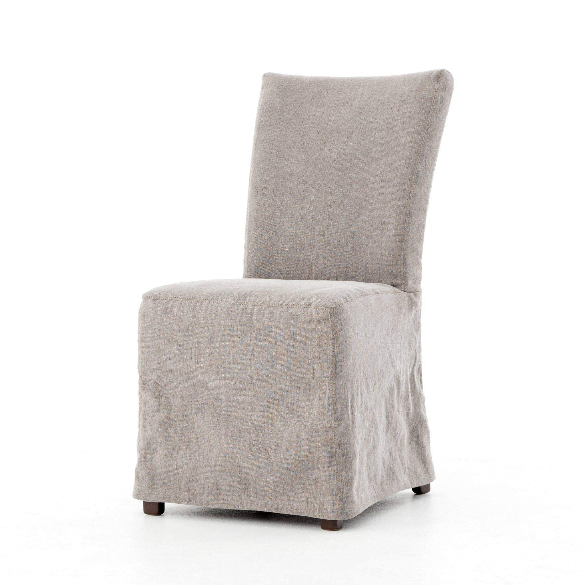 Ashford Collection Vista Dining Chair: Heather Twill Carbon-Dining Chair-Parker Gwen