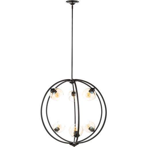 "Axel 33.25""H x 31.63""W 6-Light Chandelier"