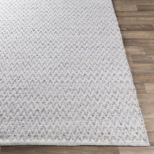 Lila Recycled Hand Woven Indoor/Outdoor Rug Collection - Multiple Sizes & Runner (Light Gray) | Outdoor | parker-gwen