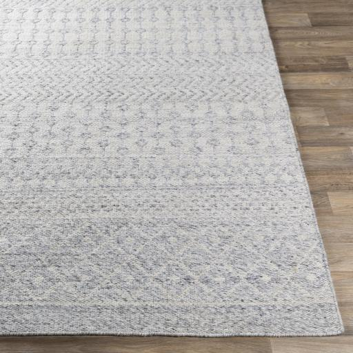 Mila Recycled Hand Woven Indoor/Outdoor Rug Collection - Multiple Sizes & Runner (Light Gray) | Outdoor | parker-gwen