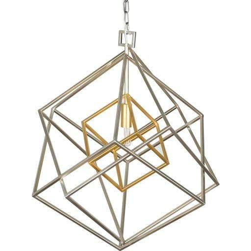"Blair 25""H x 20.9""W 1-Light Lantern Chandelier"