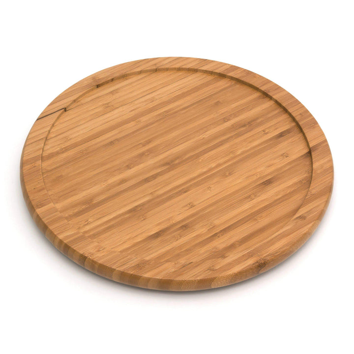 "Bamboo 14"" Lazy Susan Turntable-Tray-Parker Gwen"