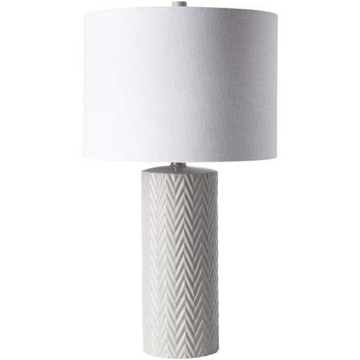 Branch Chevron Ceramic Table Lamp - Parker Gwen