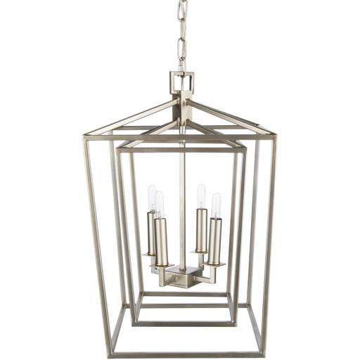 "Bellair 21.3""H x 14""W 4-Light Lantern Chandelier"