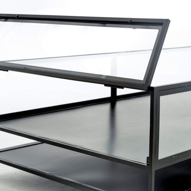 Belmont Collection Shadow Box Coffee Table - Parker Gwen