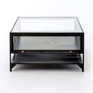 Belmont Collection Shadow Box Coffee Table-Coffee Table-Parker Gwen