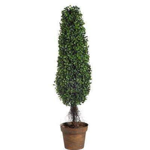 "Boxwood Tree Topiary: 35""-Floorstanding-Parker Gwen"