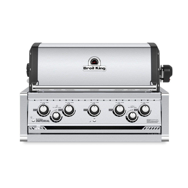Broil King Imperial 590 Built-In Stainless Steel Grill (Natural Gas or Propane)-Grill-Parker Gwen
