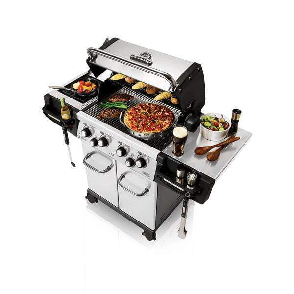 Broil King Regal S490 Pro Stainless Steel Grill (Natural Gas or Propane) - Parker Gwen