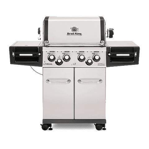 Broil King Regal S490 Pro Stainless Steel Grill (Natural Gas or Propane)-Grill-Parker Gwen