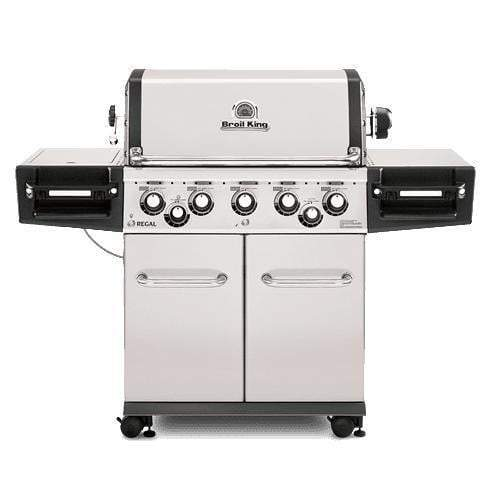 Broil King Regal S590 Pro Stainless Steel Grill (Natural Gas or Propane)-Grill-Parker Gwen