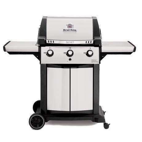 Broil King Signet 320 Stainless Steel Grill (Natural Gas or Propane)-Grill-Parker Gwen