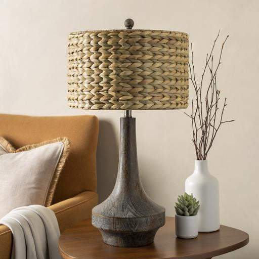 Carson Resin Table Lamps (Grass Shade) - Parker Gwen