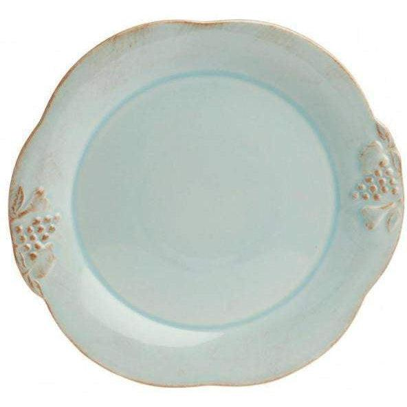 Casafina Madeira Harvest Blue Dinner Plate: Set of 4 - Parker Gwen