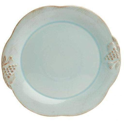Casafina Madeira Harvest Blue Salad Plate: Set of 4 - Parker Gwen
