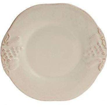 Casafina Madeira Harvest Cream Bread & Butter Plate: Set of 4 - Parker Gwen