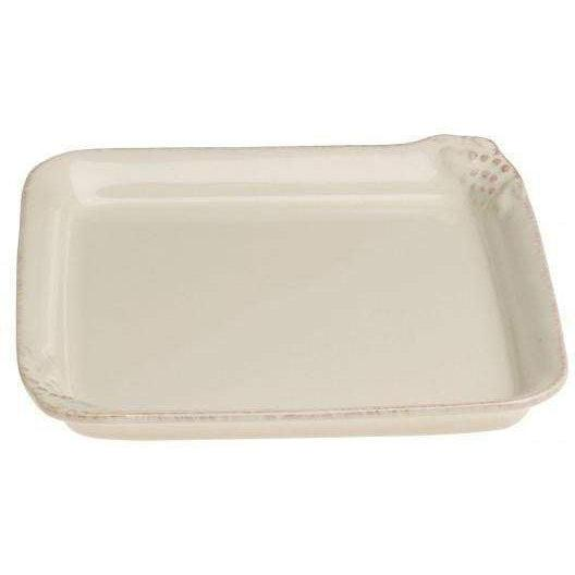 Casafina Madeira Harvest Cream Square Serving Tray: Set of 2 - Parker Gwen