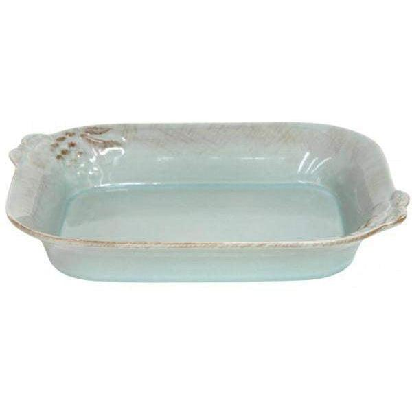 Casafina Madeira Harvest Medium Rectangular Blue Baking Dish-Bakeware-Parker Gwen