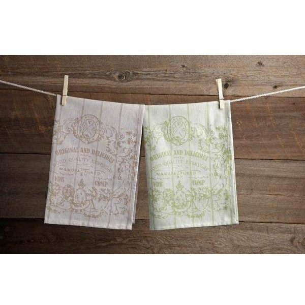 Casafina Oversized Kitchen Towel Sets of 6: Color Variety-Hand Towel-Parker Gwen