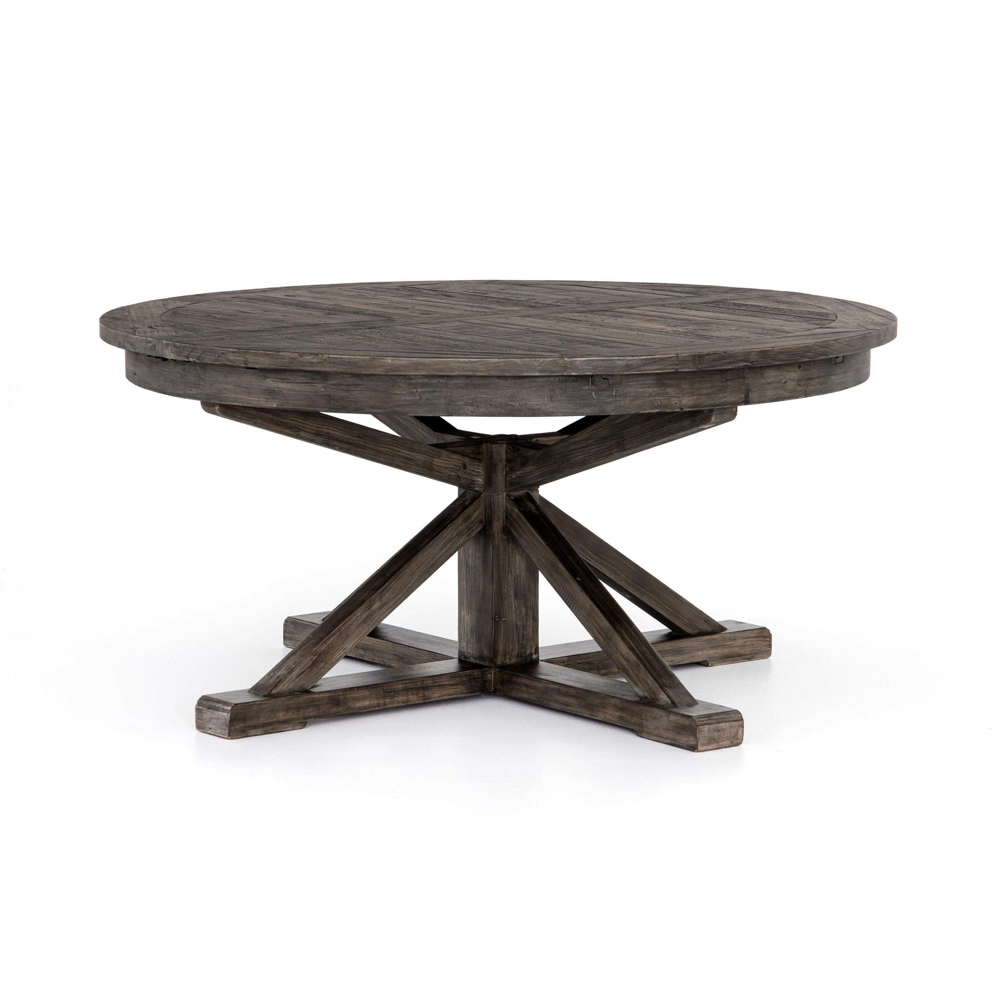 Cintra collection extension dining table rustic black olive dining table parker gwen