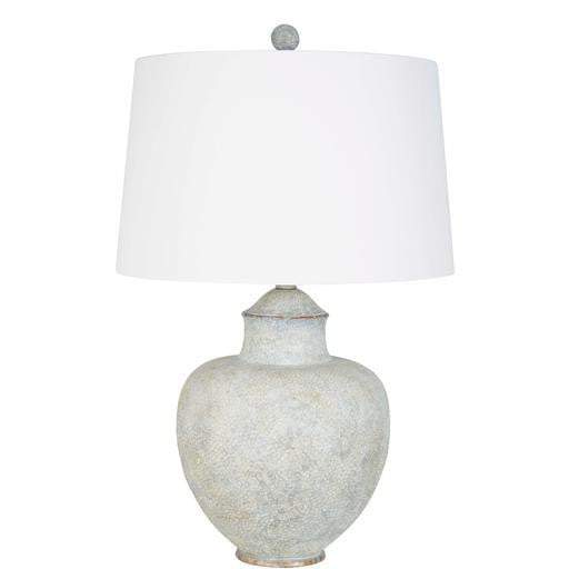 Cooper Table Lamp (Grey/Blue) - Parker Gwen