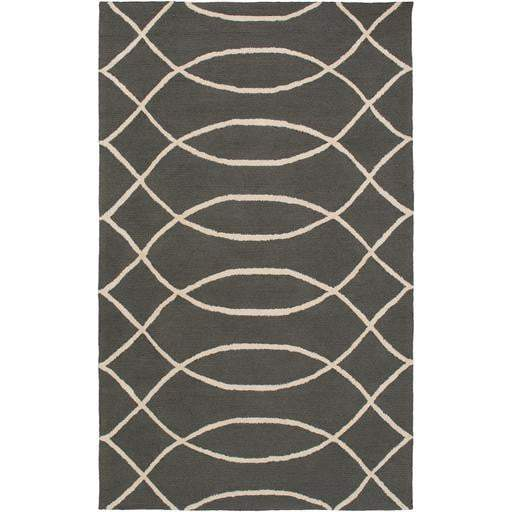 Courtyard Indoor/Outdoor Area Rug (Multiple Sizes): Gray/Beige - Parker Gwen
