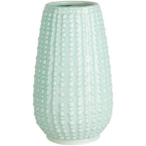 "Clearwater Ceramic Vase 9.5"" and 11"" Tall Options (Ivory, Sage) - Parker Gwen"