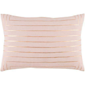 "Crescent Throw Pillow: 13"" x 19"" (Blush) - Parker Gwen"