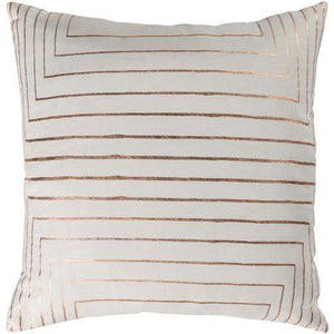 "Crescent Throw Pillow: 18"", 20"" or 22"" (Cream) - Parker Gwen"