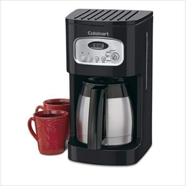 Cuisinart 10-Cup Programmable Thermal Coffeemaker-Black - Parker Gwen