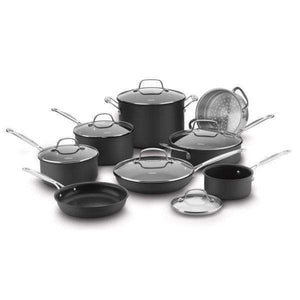 Cuisinart 14-Pc Chef's Classic Non-Stick Hard Anodized Cookware-Pan-Parker Gwen