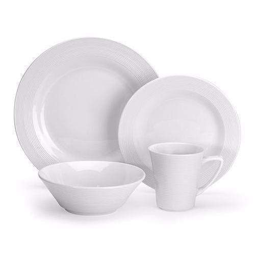 Cuisinart 16 Piece Porcelain Dinnerware Set - Marne Collection-Set-Parker Gwen