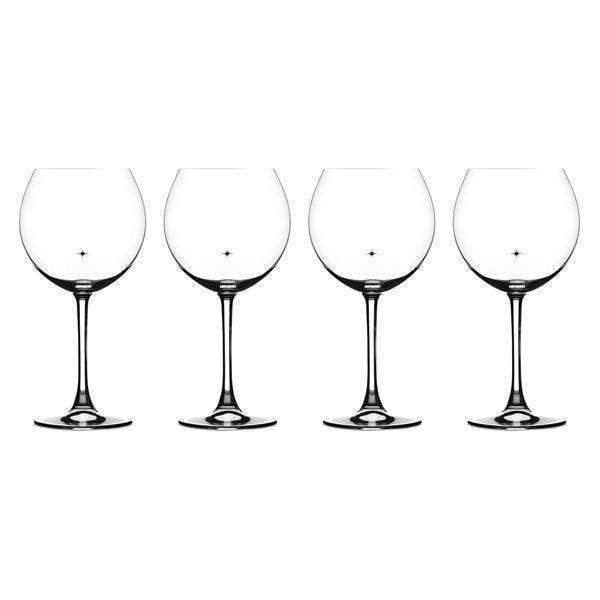 Cuisinart 4 Piece Burgundy Glass Set-Wine & Beer-Parker Gwen